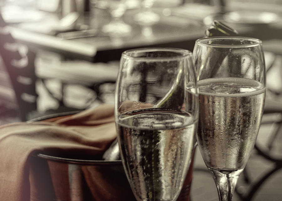 Champagne Photograph - All Sparkling by JAMART Photography