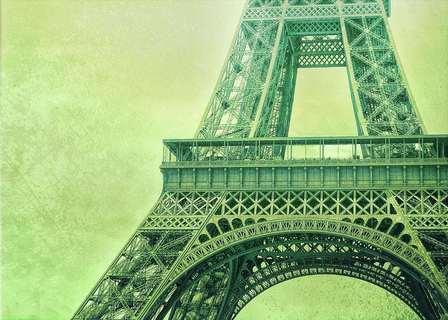 Paris Photograph - Altitude 95 Greens by JAMART Photography