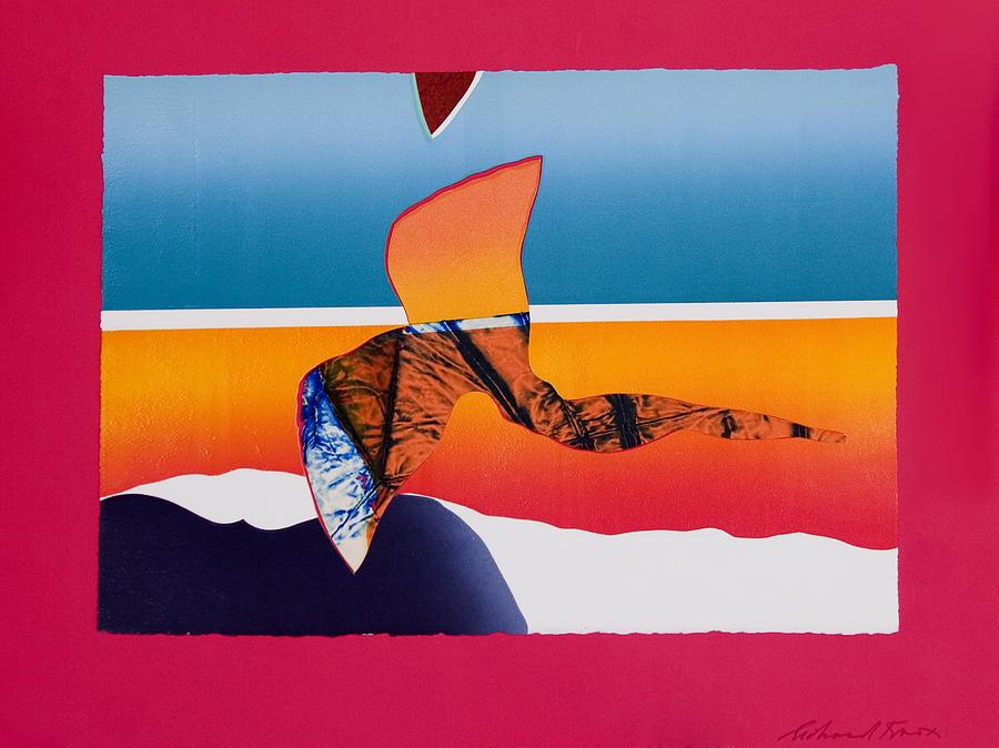 Spirit Painting - Angel Flight by Richard Knox