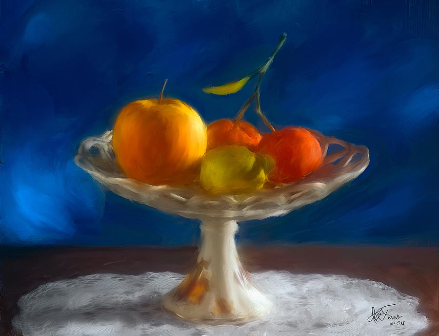 Apple, lemon and mandarins. Valencia. Spain by Juan Carlos Ferro Duque