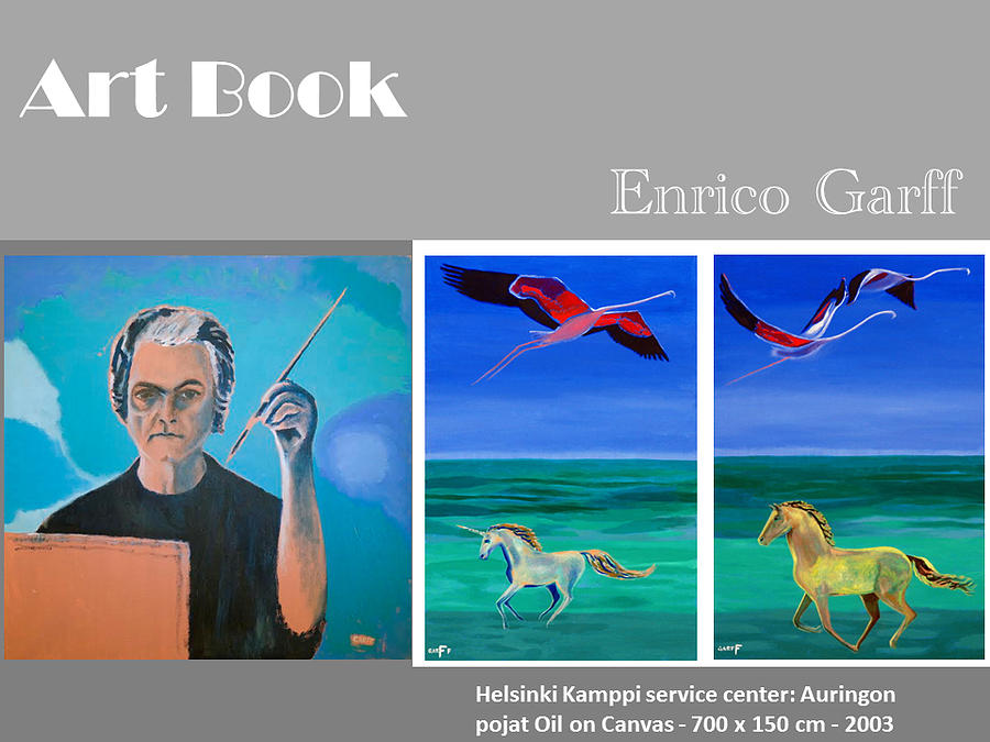 Art Book Painting by Enrico Garff