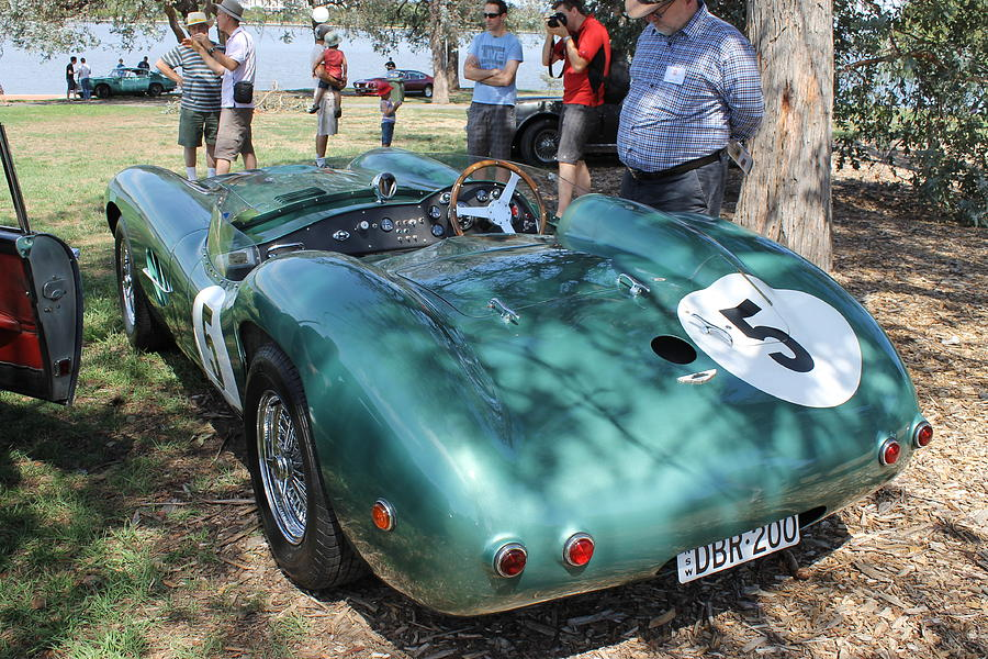 Aston Photograph - Aston Martin DBR 1 by Anthony Croke
