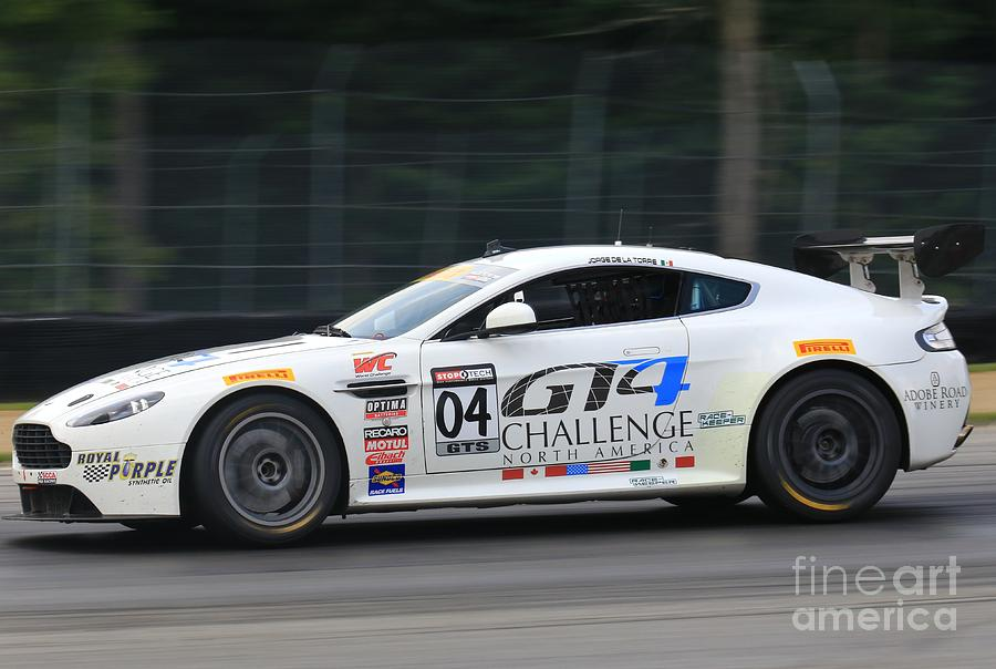 Aston Martin Gt Racing Photograph