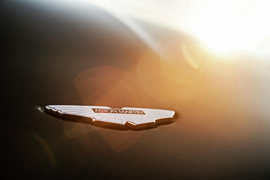 Aston Photograph - Aston Martin Wings by Drew Phillips