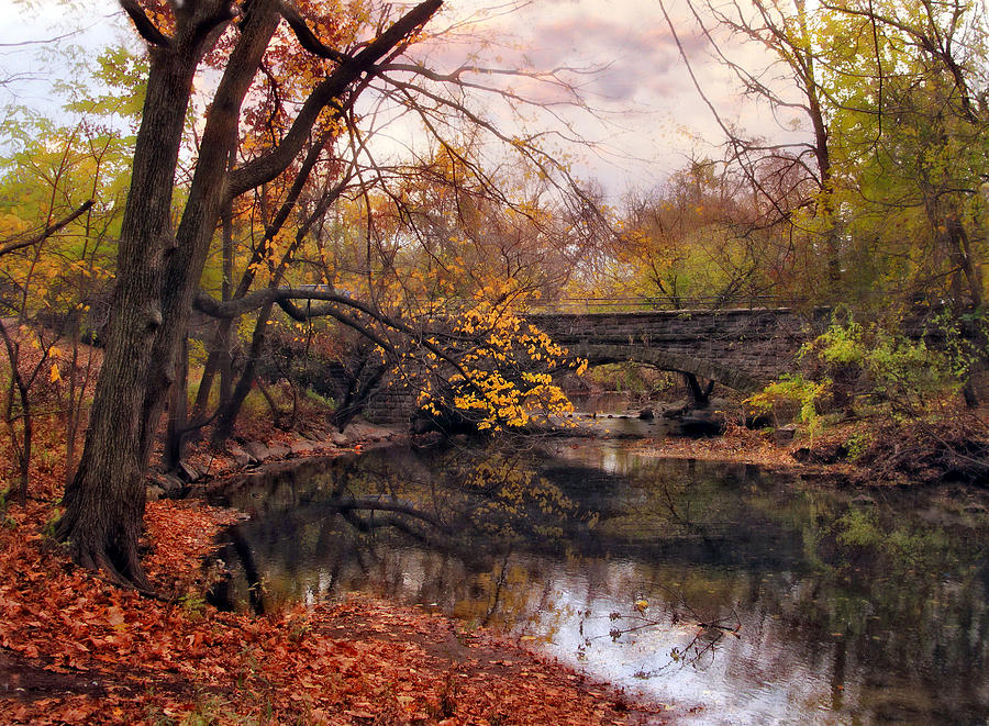 Autumn Photograph - Autumns Ending by Jessica Jenney