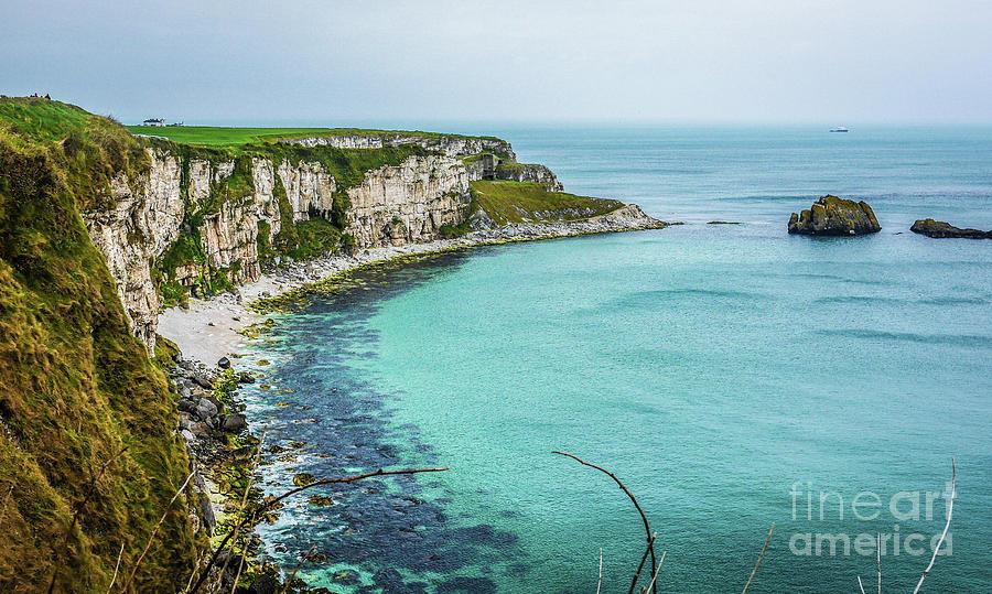 Ballintoy Coastline Northern Ireland Photograph By Lexa