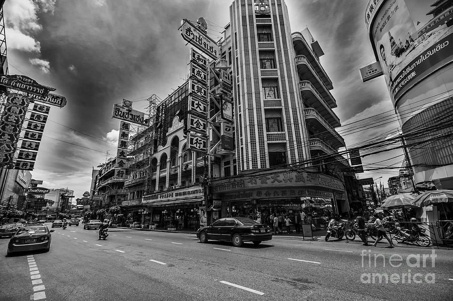 Bangkok Street Photograph