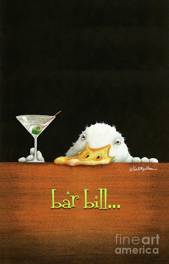 Will Bullas Painting - Bar Bill... by Will Bullas