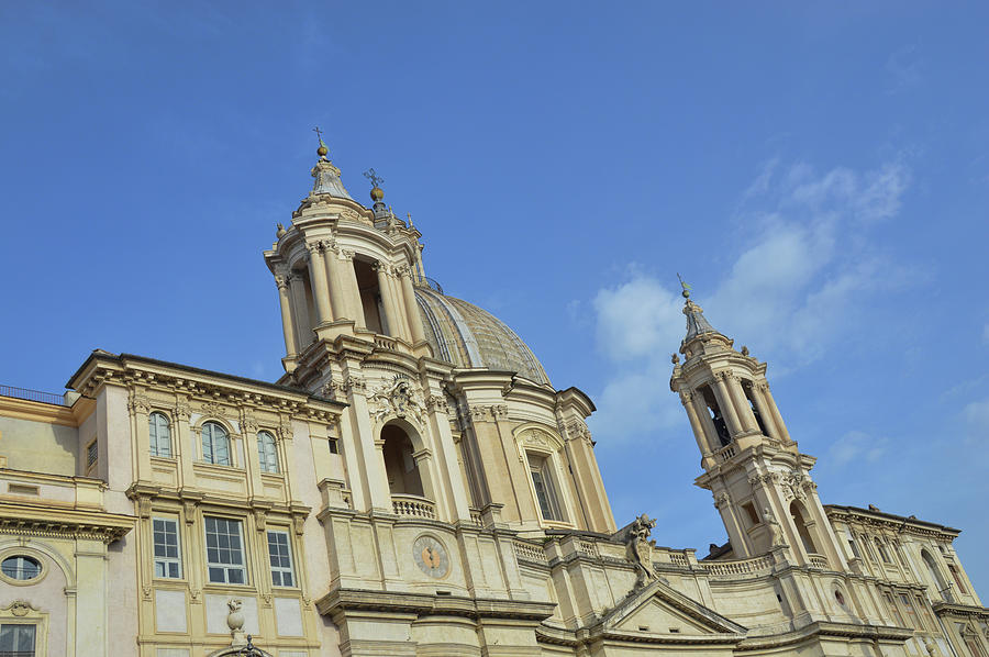 Italy Photograph - Baroque Church by JAMART Photography