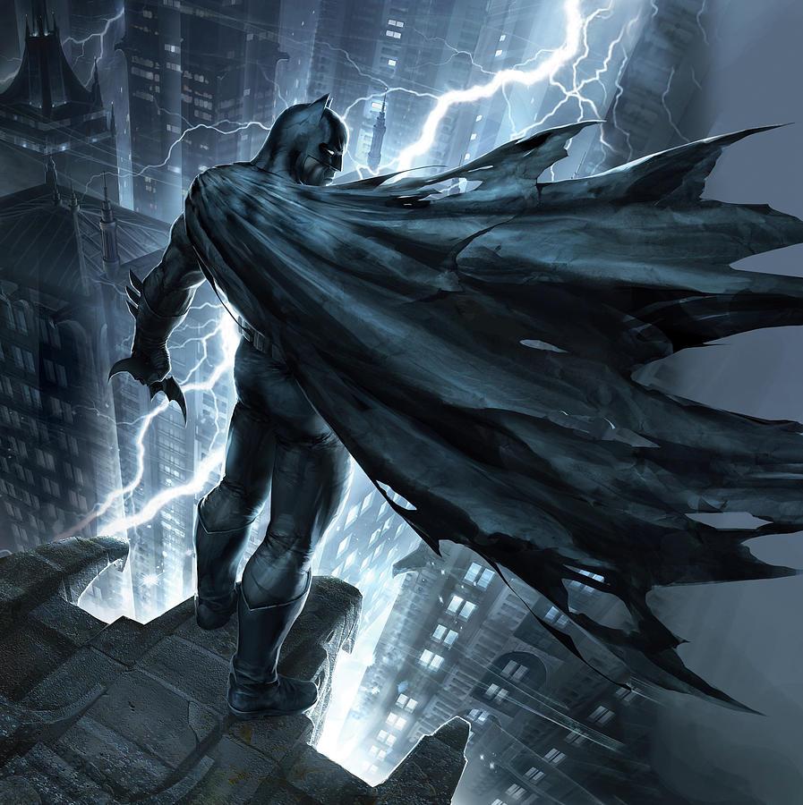Movie Digital Art - Batman The Dark Knight Returns 2012 by Unknown
