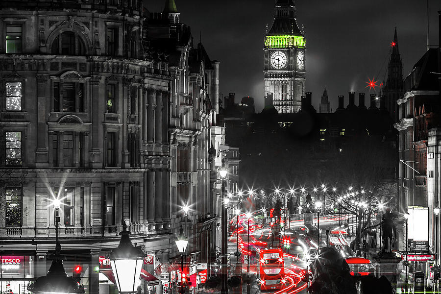 Black And White Photograph - Big Ben  by Frank Molina