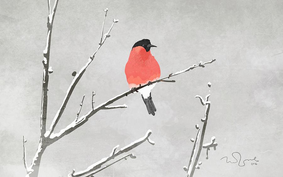 Animal Digital Art - Bird by Penko Gelev