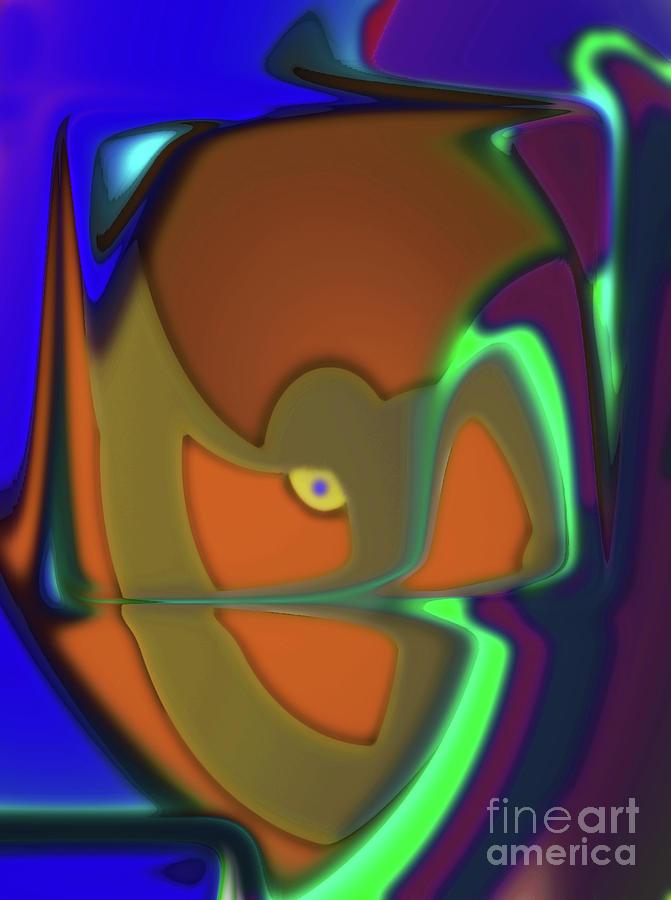 Blue Eye Digital Art