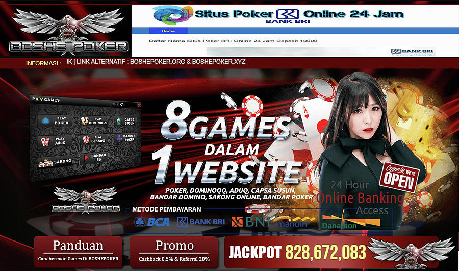 Boshepoker Situs Poker Online Bank Bni 24 Jam Indonesia Mixed Media By Boshepoker