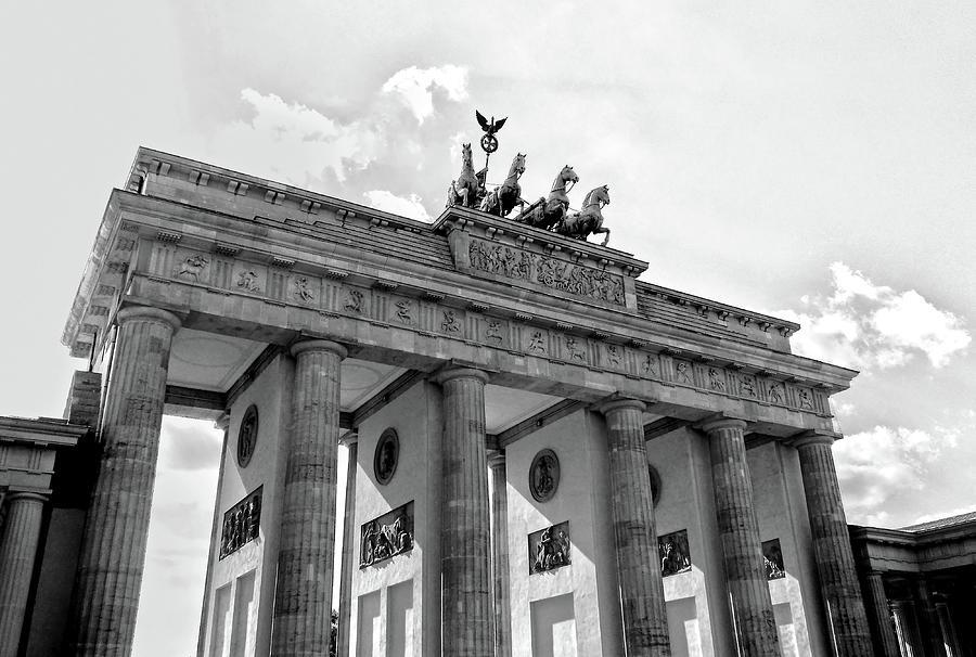 Brandenburg Gate - Berlin by Juergen Weiss