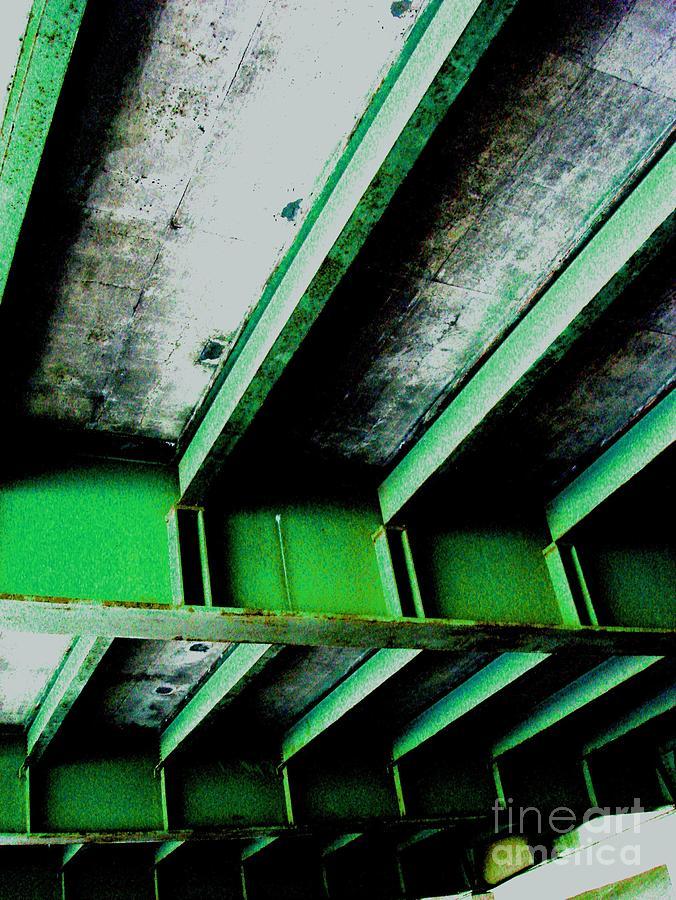 Digital Prints Photograph - Bridge Study 1 by Teo Santa
