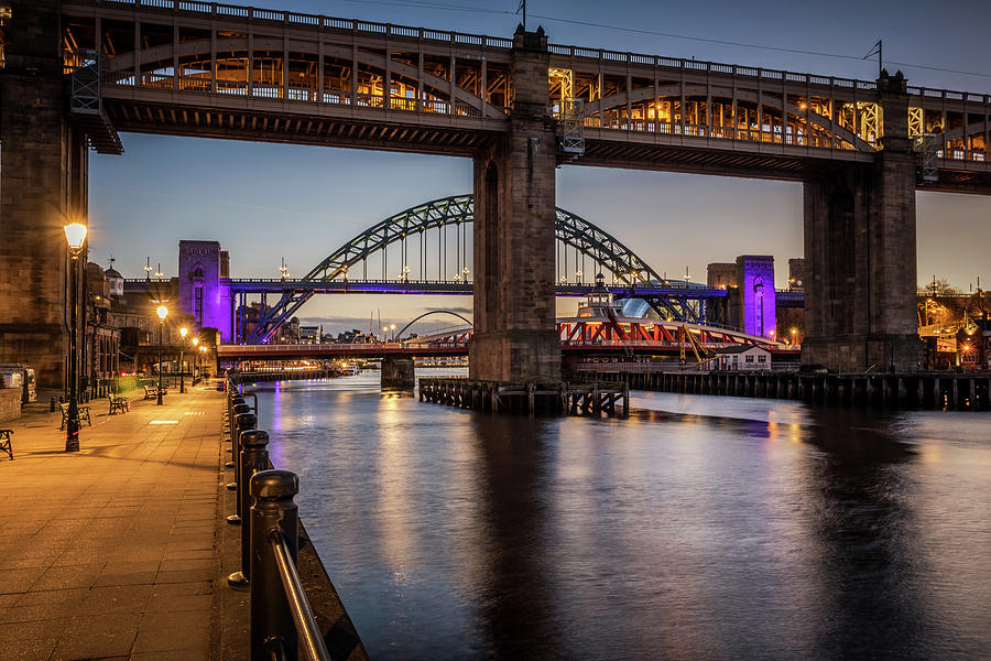 Bridges Over The Tyne Photograph