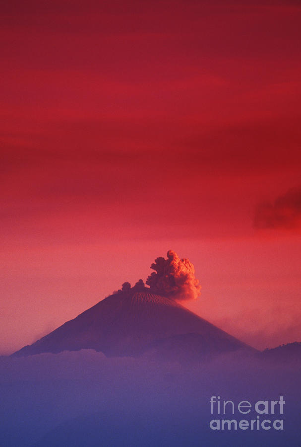 Active Photograph - Bromo Tengger Semeru by Gloria & Richard Maschmeyer - Printscapes