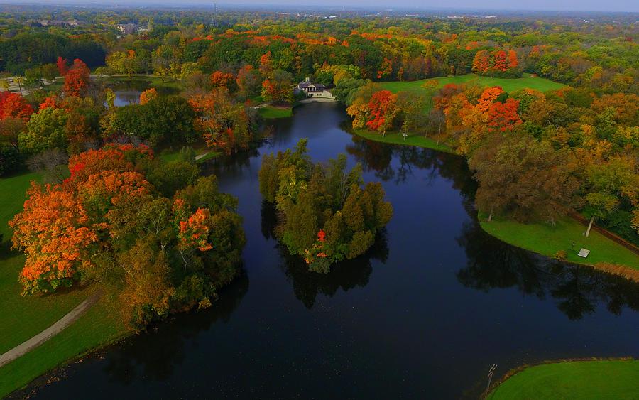 Milwaukee Photograph - Browndeer Park by Steve Bell