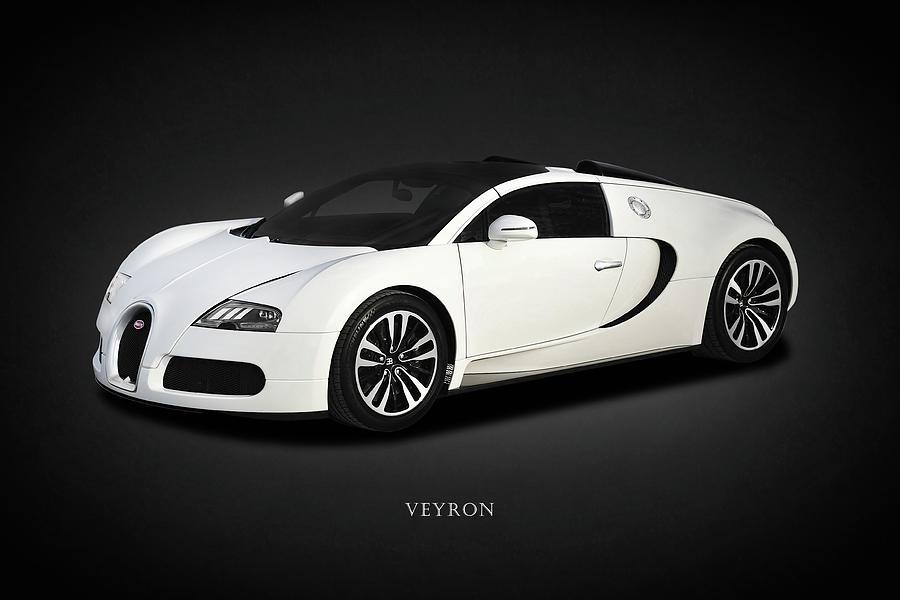 Bugatti Veyron Photograph - Bugatti Veyron 1 by Mark Rogan