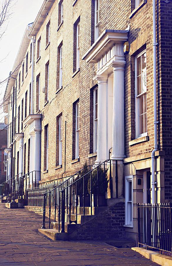 Architecture Photograph - Bury St Edmunds Buildings by Tom Gowanlock