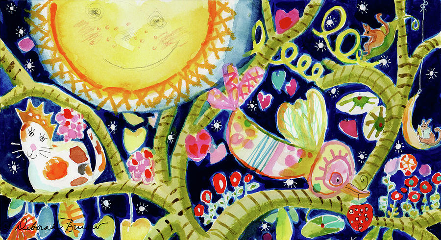 By the Light of the Moon by DEBORAH BUROW