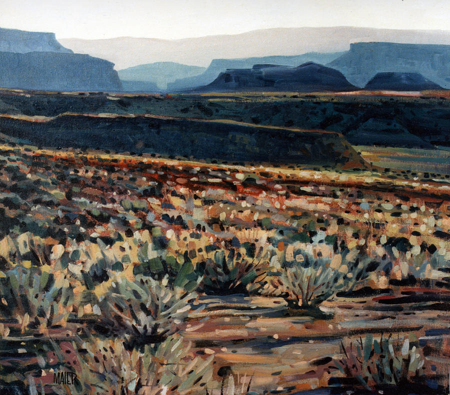 Canyonlands Painting - Canyonlands by Donald Maier