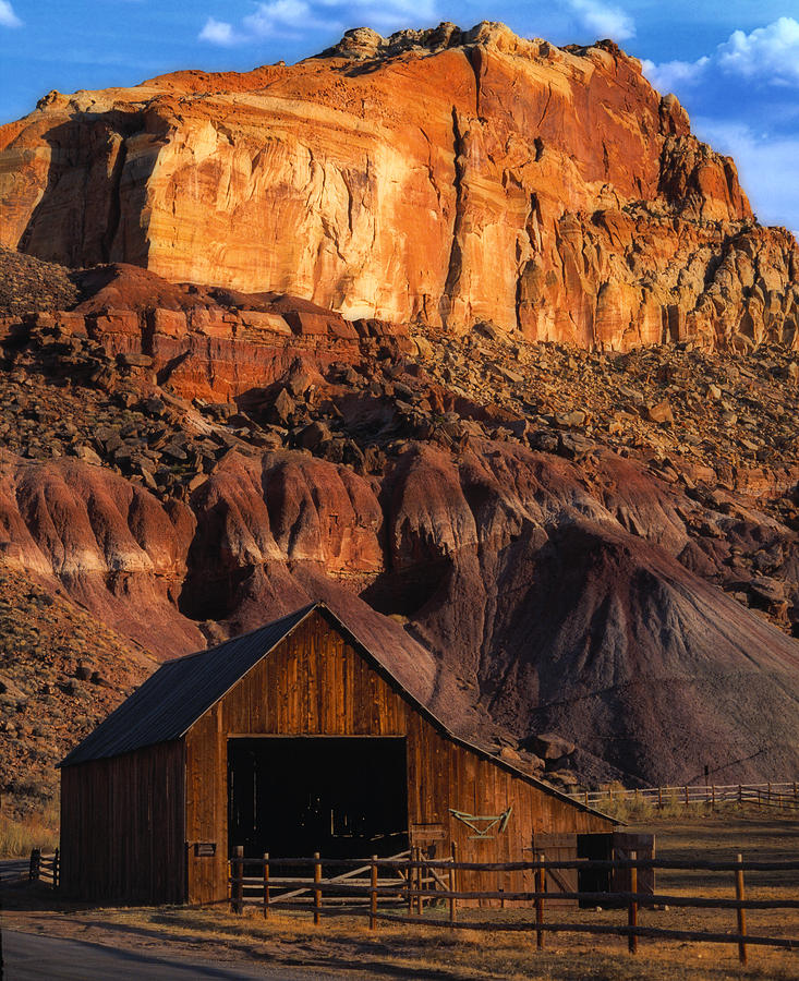 Capitol Reef National Park, Ut Photograph
