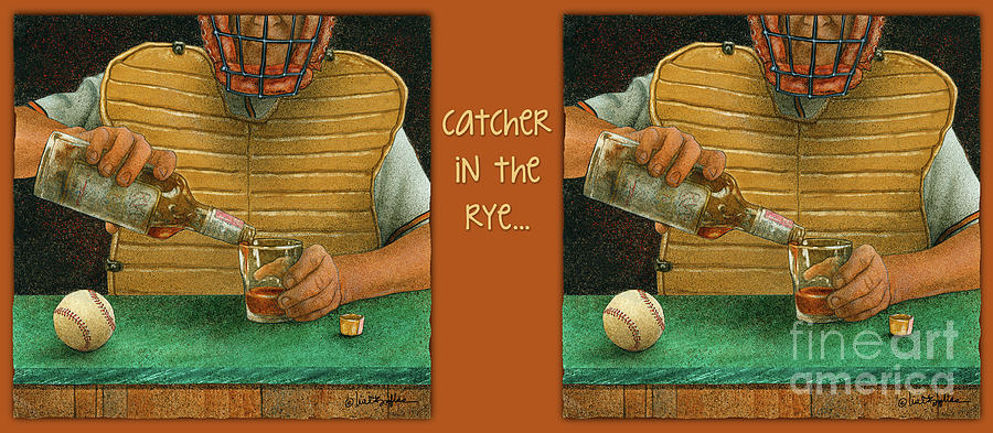 Will Bullas Painting - Catcher In The Rye... by Will Bullas