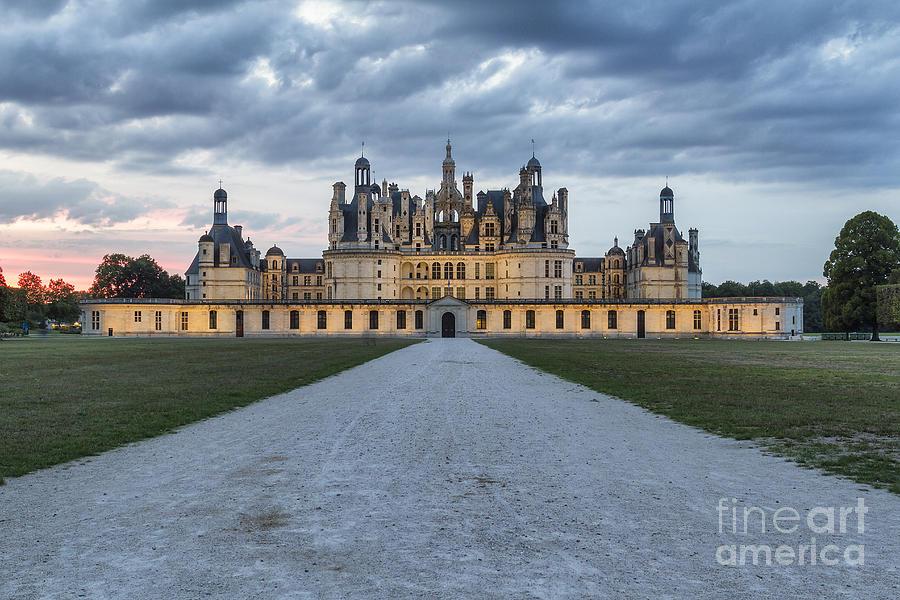Chateau De Chambord Photograph - Chambord Castle by Pier Giorgio Mariani