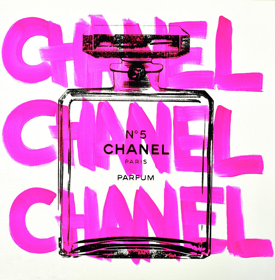 Acrylic Painting - Chanel Chanel Chanel  by Shane Bowden