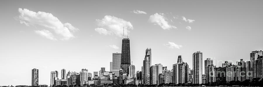 Chicago Skyline Panorama Photo Photograph