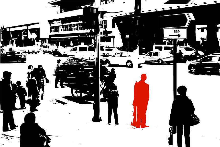 Image Digital Art - China by Ruediger Grimm