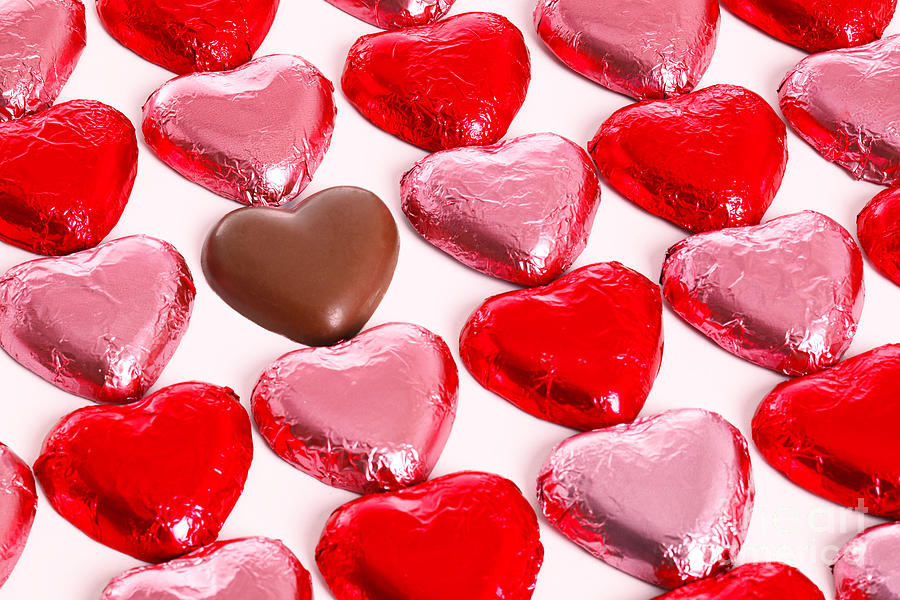 Chocolate Hearts Photograph By Richard Thomas