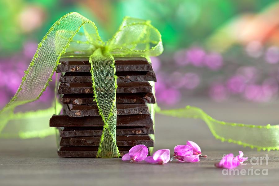 Addiction Photograph - Chocolate by Nailia Schwarz