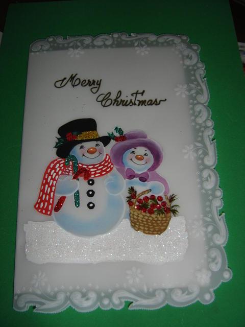 Christmas Cards Drawing by Carmen Aldana