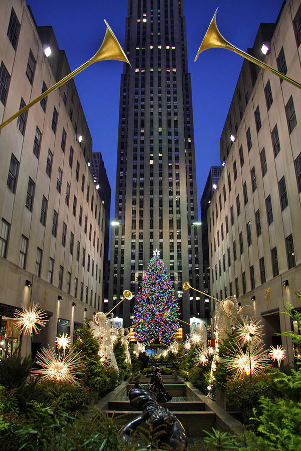 Christmas Photograph - Christmas In New York by June Marie Sobrito