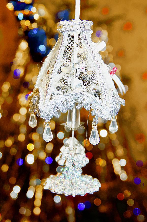 Christmas Table Lamp Photograph By Iryna Oliinyk