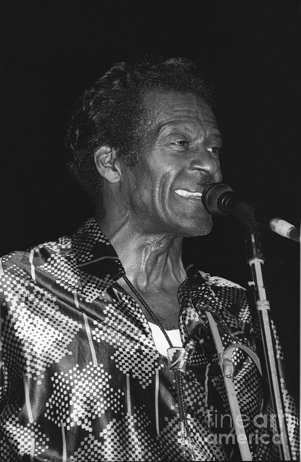 Chuck Berry Photograph - Chuck Berry 2 by Concert Photos