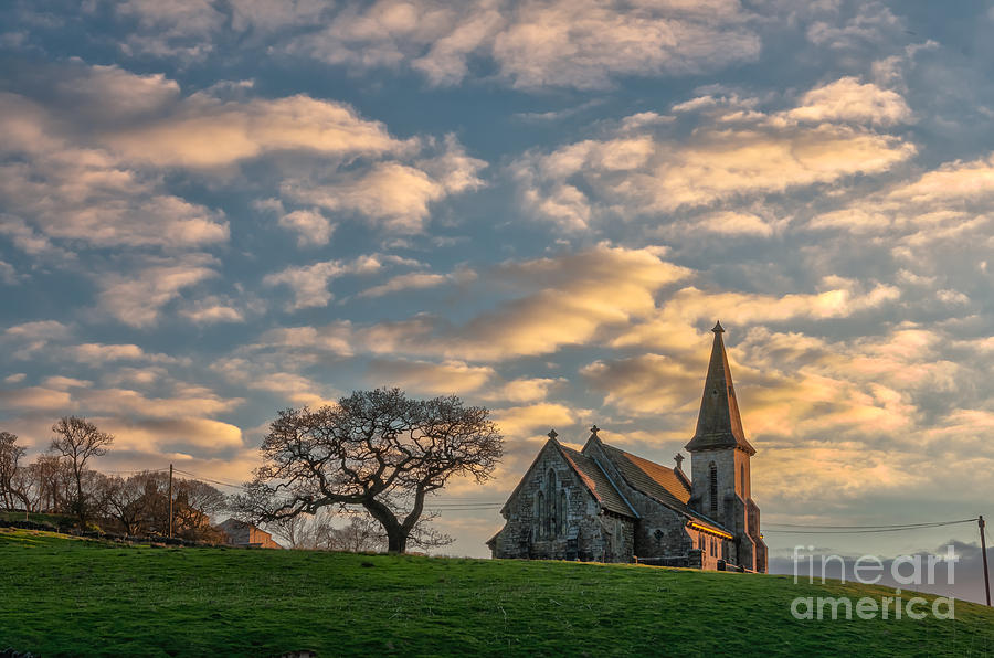 Church In Blubberhouses Photograph