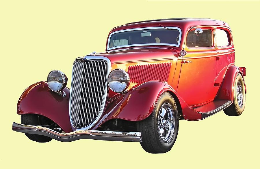 Classic Car Photograph by Chuck Cannova