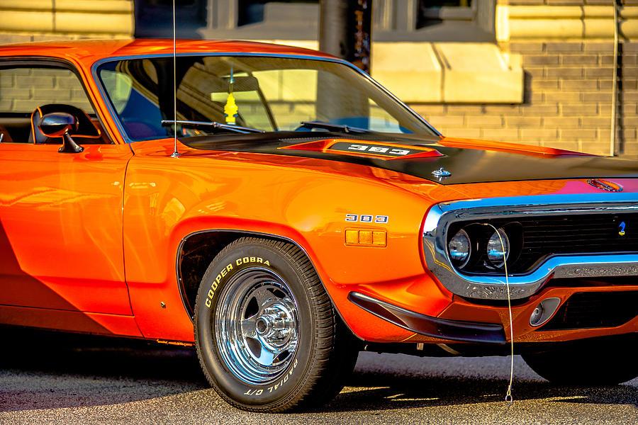 Classic Car Show In Historic Old York City South Carolina Photograph - Classic car show york
