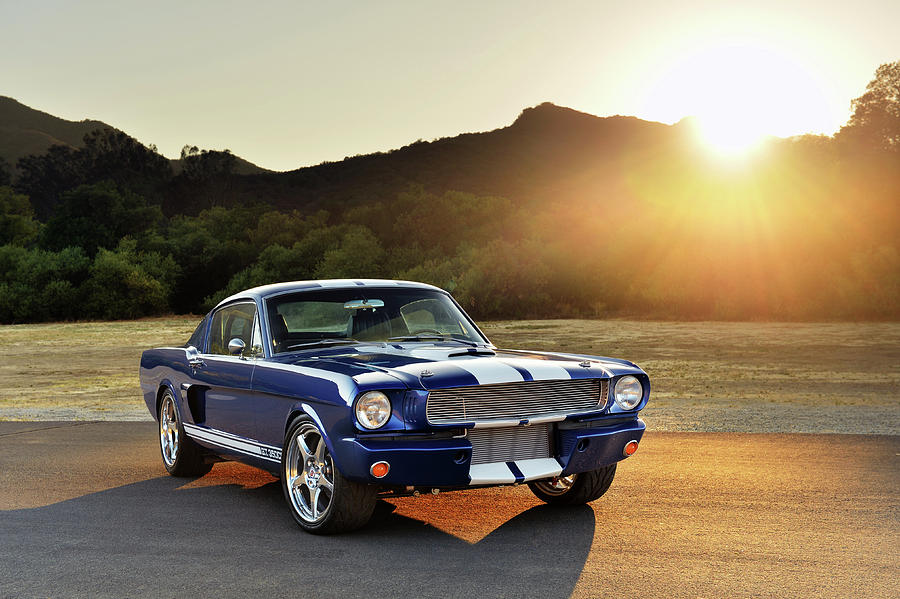 Shelby Photograph - Classic Recreations Shelby Gt350cr by Drew Phillips