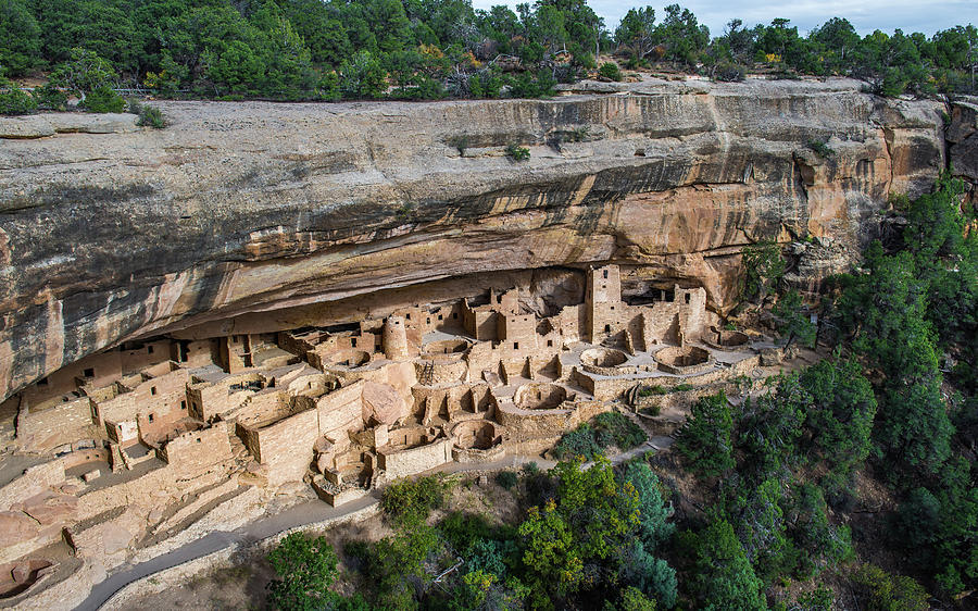 Mesa Verde National Park Photograph - Cliff Palace by Joseph Smith