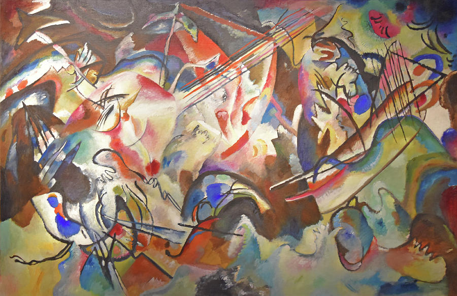 Wassily Kandinsky Painting - Composition Vi by Wassily Kandinsky