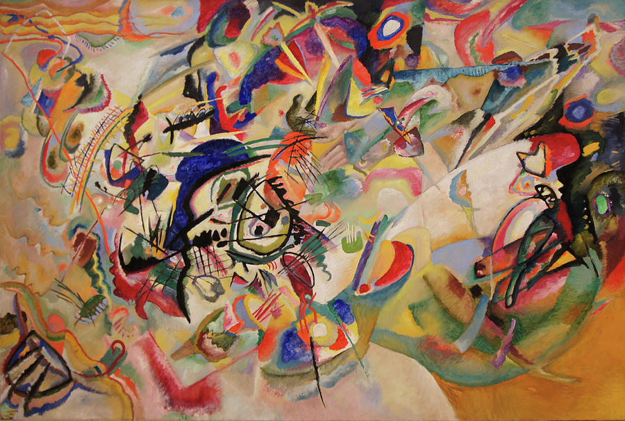 Wassily Kandinsky Painting - Composition Vii by Wassily Kandinsky