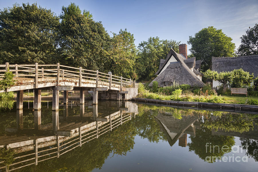 Flatford Photograph - Constable Country by Colin and Linda McKie
