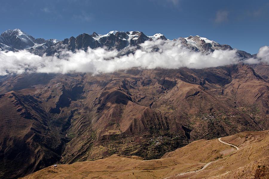 Cordillera Real And Illampu Photograph