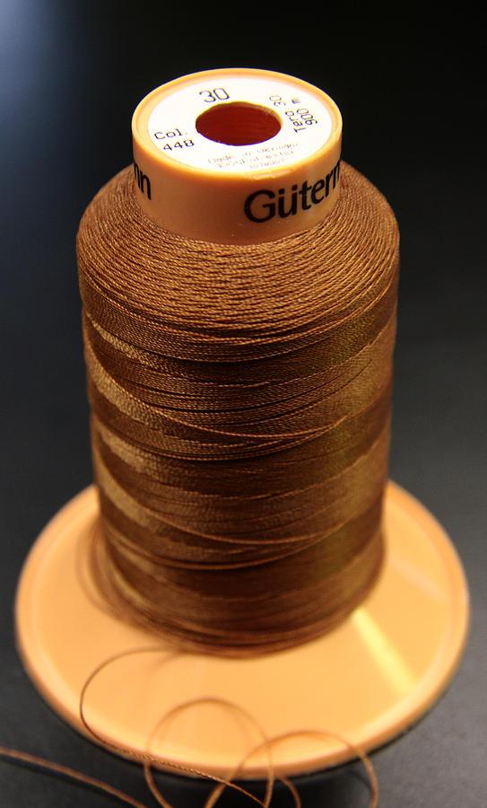 Safety Pins Photograph - Cottons Threads by Adam Sworszt