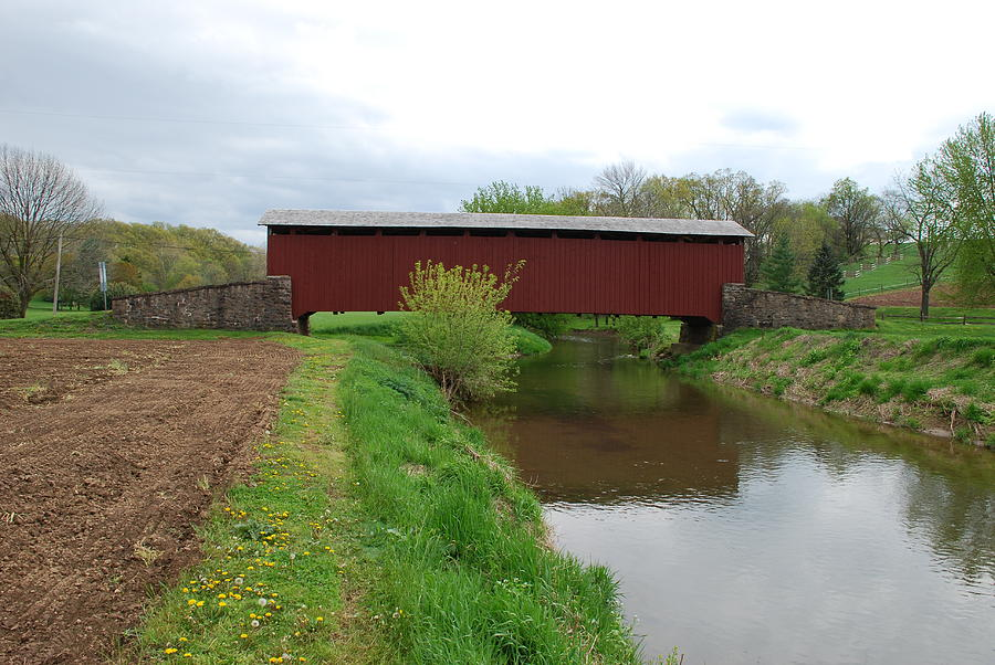 Covered Bridge Photograph - Covered Bridge by Brian Williams